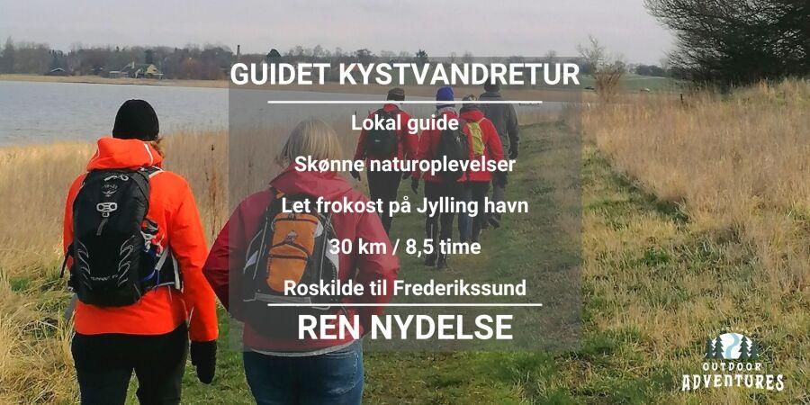 Guidet kystvandretur fra Roskilde til Frederikssund